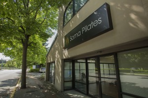 Outside Soma Pilates Studio